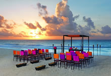 Sultry Sunset destination wedding