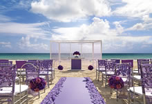 Lavender Luxe destination wedding