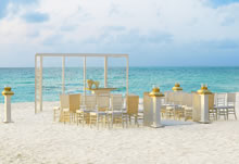 Pearl Shimmer destination wedding