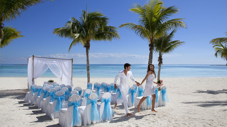 Barcelo Maya Palace Deluxe Riviera Maya Beach Wedding