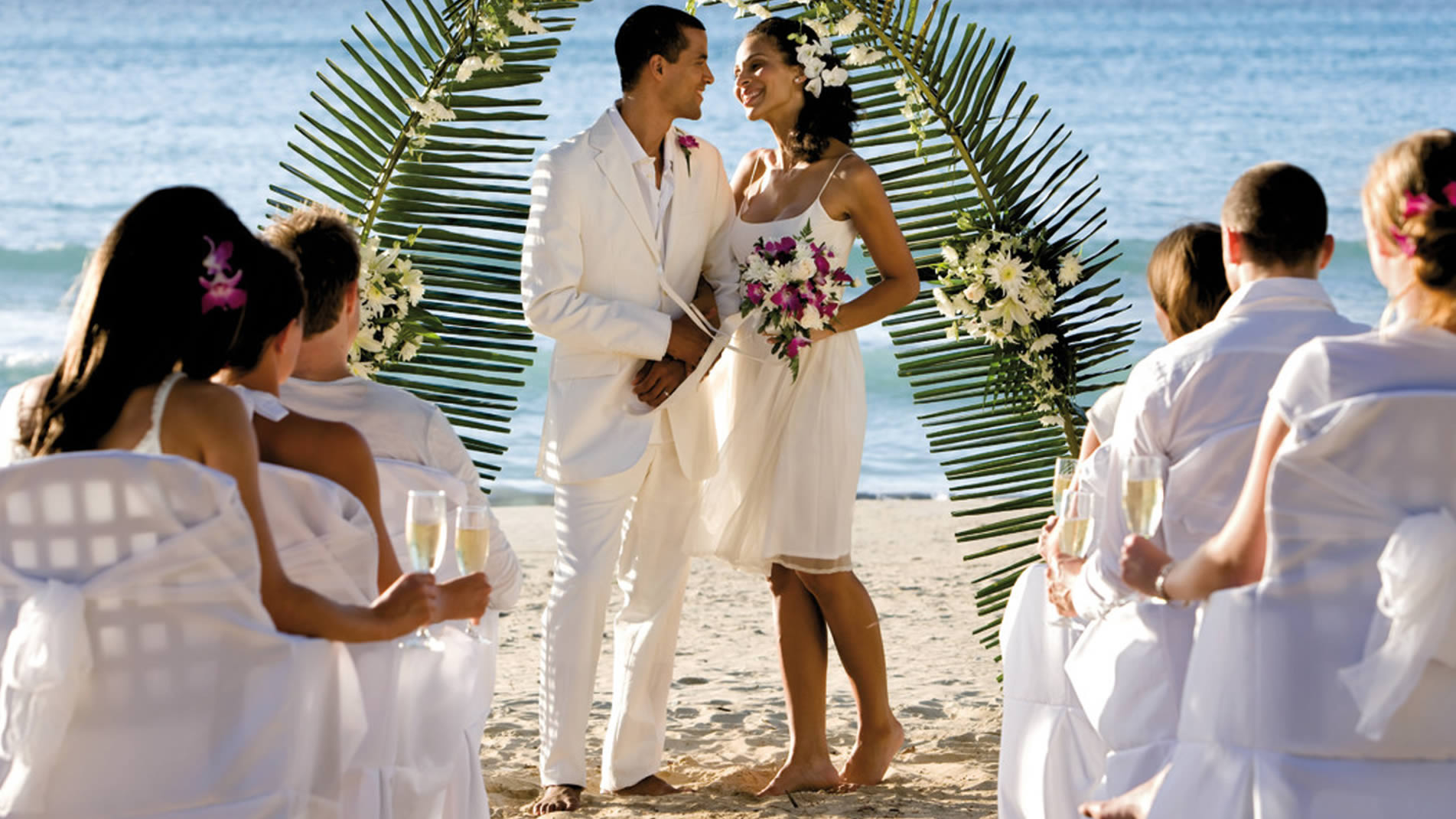 Get married on a spectacular beach and select from 4 thoughtfully designed Riu wedding packages including a Free Riu Wedding Package.