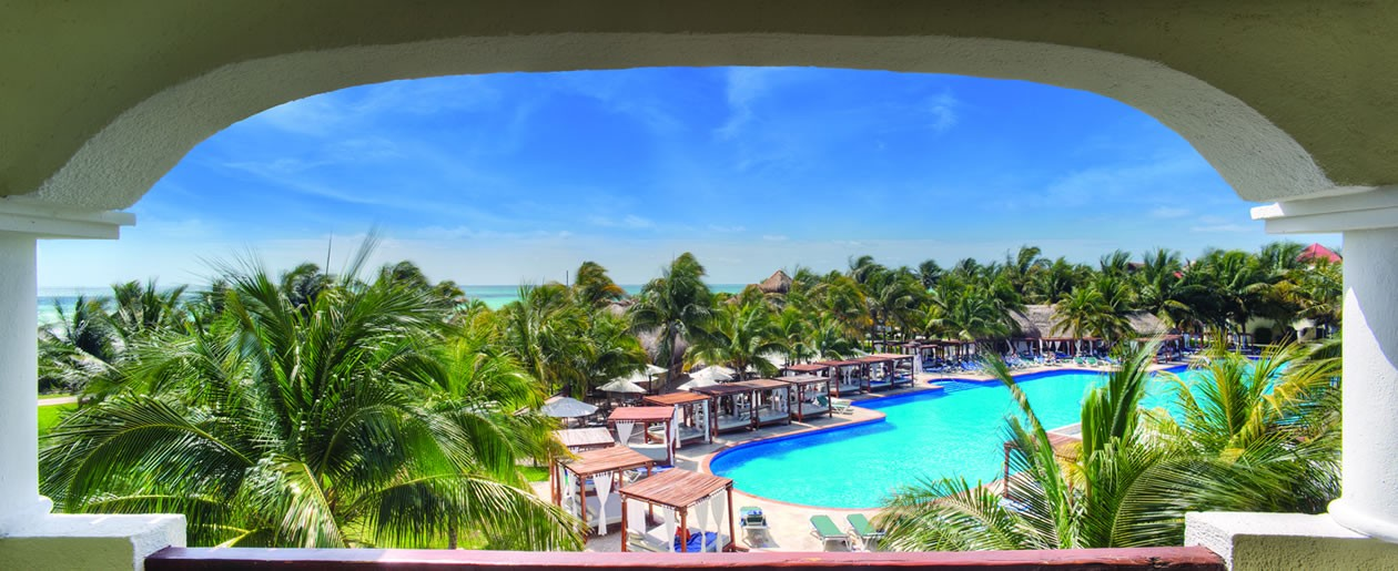 A stunning resort for your Mexican Riviera Maya destination wedding.