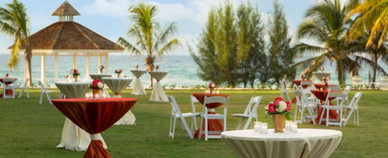 Incredible wedding venues at the world's most celebrated beach front locations Montego Bay.