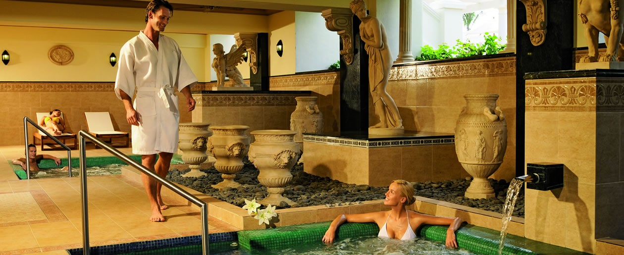 The Riu Spa offers relaxation and romance on your honeymoon stay.
