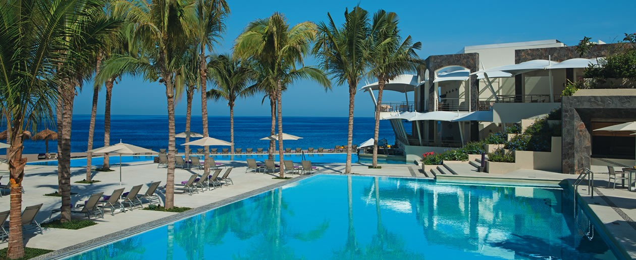 The pools at Secrets Vallarta Bay provide guests with ultimate luxury and relaxation.
