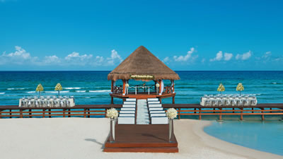 Secrets Silver Sands Adults Only Riviera Maya  Wedding in Mexico